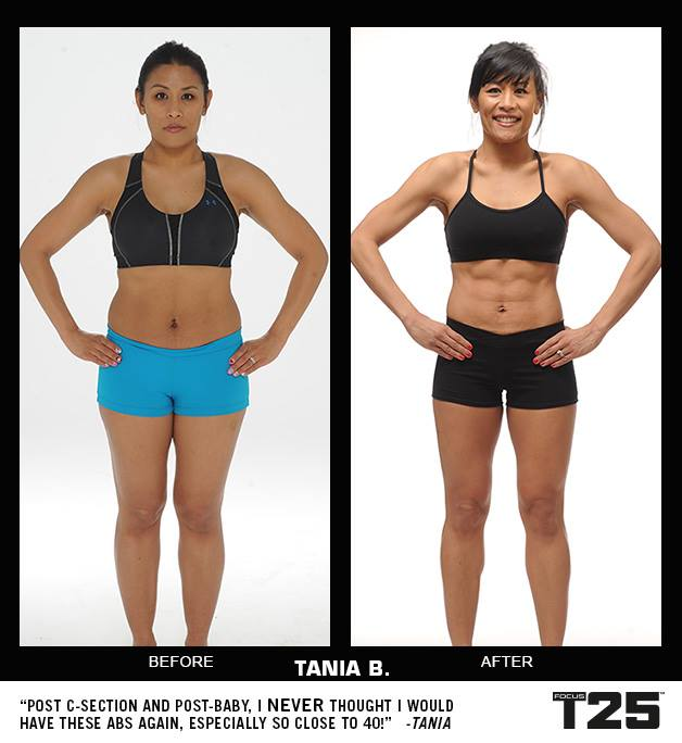 Insanity Workout T25: Focus T25 Before & After Results